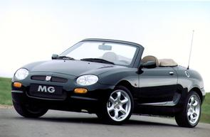 How much VR on an MGF?