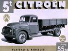 Power of 1956 Citroen truck?
