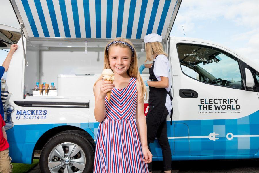 Nissan Ice Cream Truck