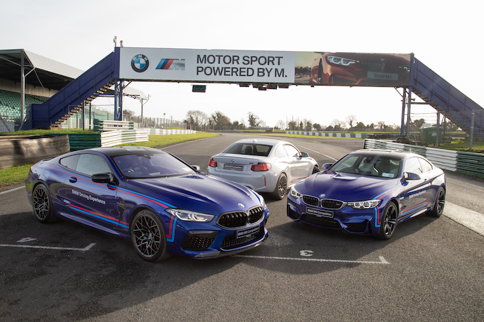 BMW driving experience at Mondello Park