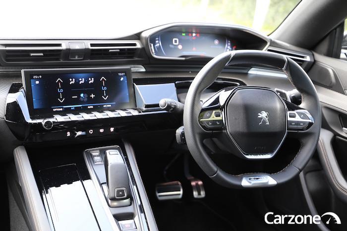 Heated steering wheel and heated seats