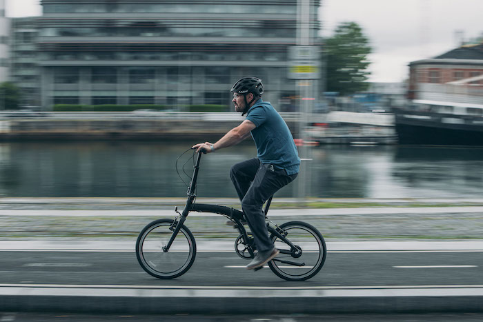 Cycling in Dublin Ireland