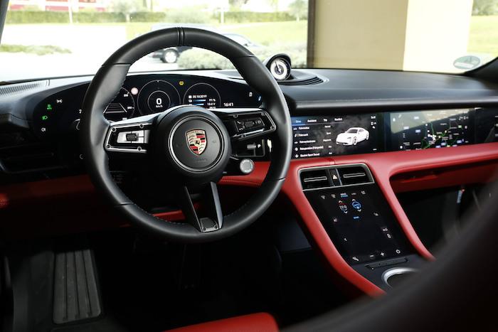 Porsche Ireland Taycan Interior