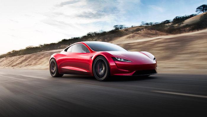 Tesla Roadster Ireland