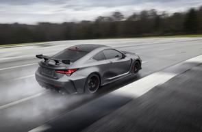 Lexus updates RC F