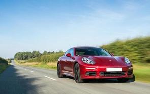 Porsche Panamera is Ireland's top luxury car