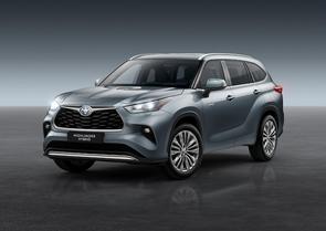 New Toyota Highlander Hybrid to launch in Ireland