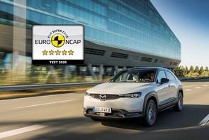 Electric Mazda MX-30 gains 5 star Euro NCAP rating