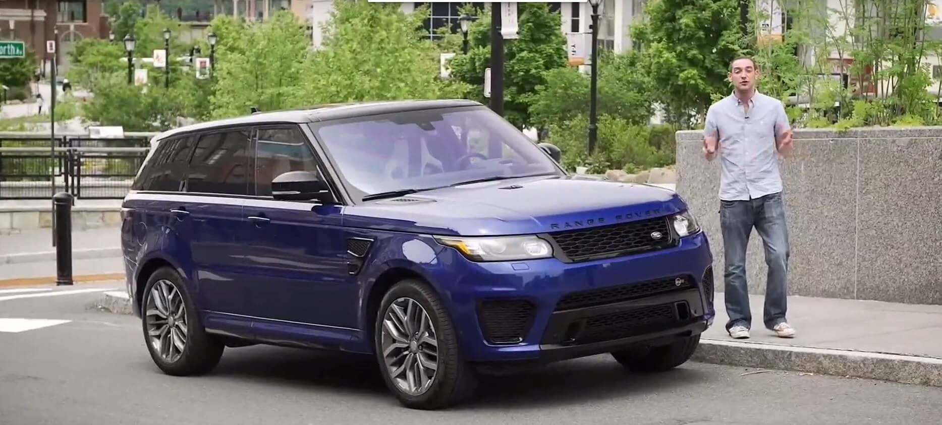 land rover range rover sport svr review carzone new car review. Black Bedroom Furniture Sets. Home Design Ideas