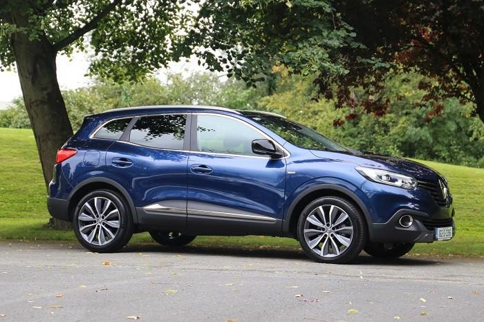 2016 Renault Kadjar Suv Review Ireland Carzone