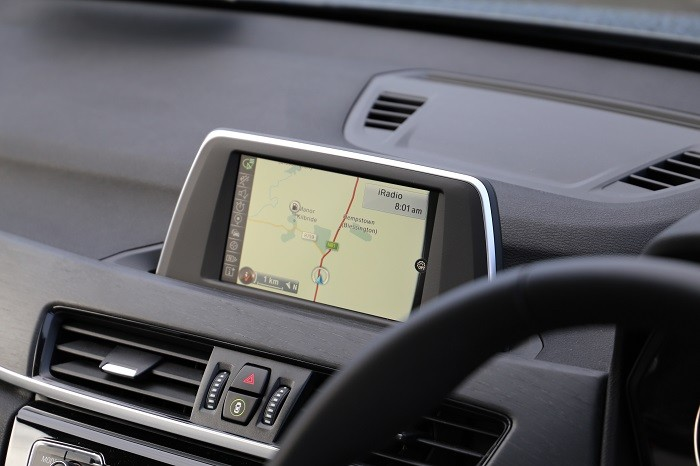 2017 BMW X1 iDrive system