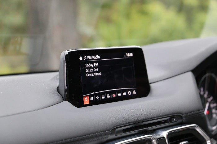 <a href='http://www.carzone.ie/new-cars/Mazda'>Mazda</a>  <a href='http://www.carzone.ie/new-cars/Mazda/CX-5'>CX-5</a>  display screen