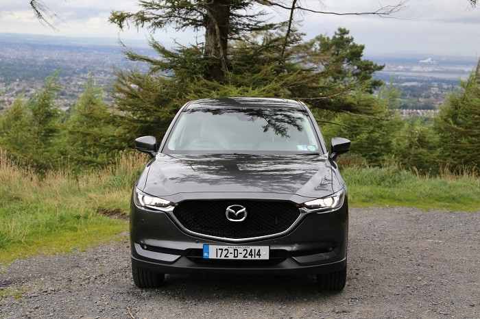 2018 <a href='http://www.carzone.ie/new-cars/Mazda'>Mazda</a>  <a href='http://www.carzone.ie/new-cars/Mazda/CX-5'>CX-5</a>  front grille