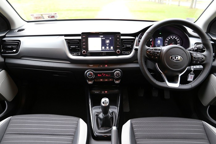 <a href='https://www.carzone.ie/new-cars/Kia'>Kia</a>  <a href='https://www.carzone.ie/new-cars/Kia/Stonic'>Stonic</a>  interior