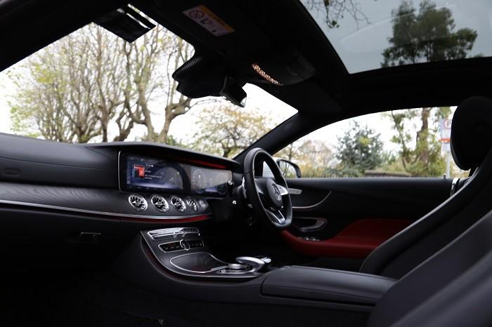 E220d interior