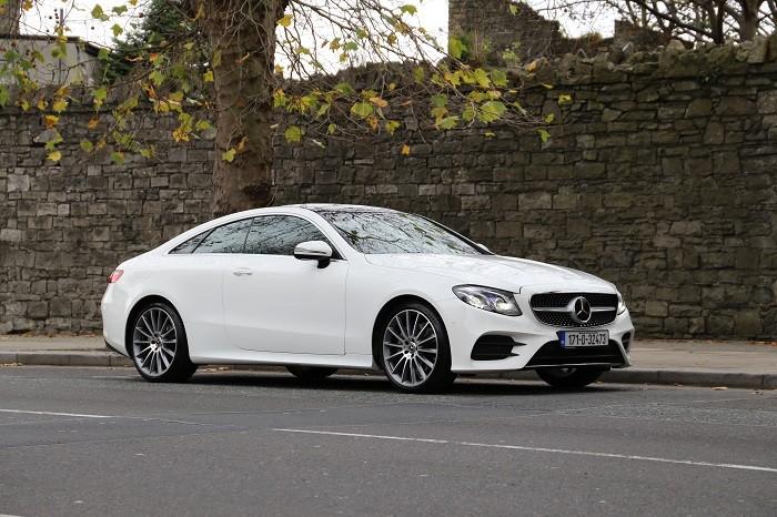 New Mercedes E-Class Coupe