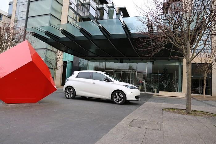 Sandyford Dublin Renault ZOE