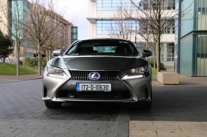 Silver exus RC front