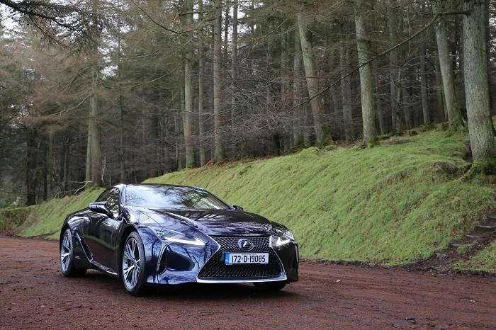 2018 Lexus Lc500h Review Ireland Carzone