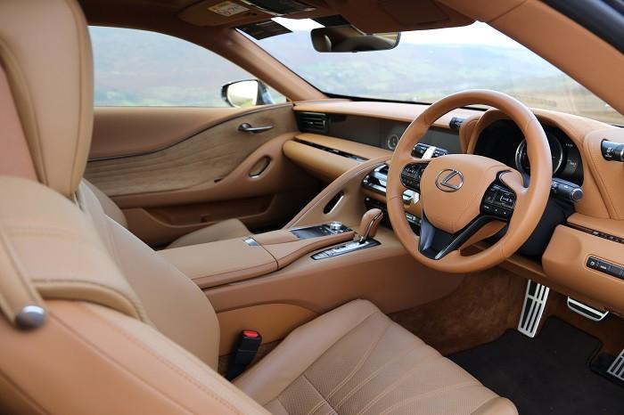 Lexus LC500h Interior