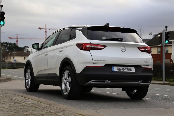 2018 Opel Grandland X White