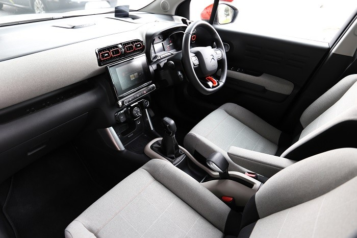 Interior <a href='https://www.carzone.ie/new-cars/Citroen/C3-Aircross'>C3 Aircross</a>