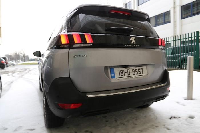 Rear Peugeot 5008