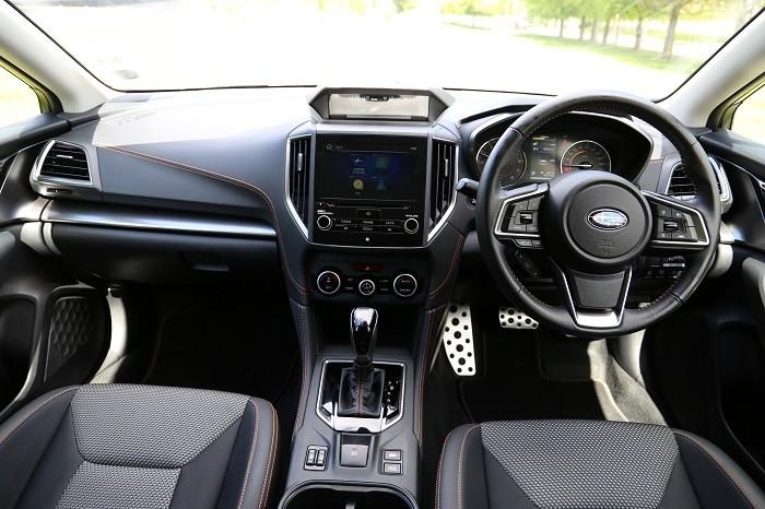Subaru XV Cabin Interior