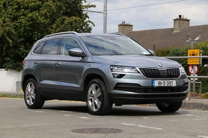 <a href='https://www.carzone.ie/new-cars/Skoda/Karoq'>Karoq</a>  Grey