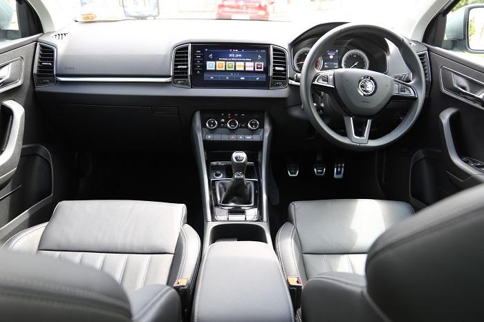 Interior <a href='https://www.carzone.ie/new-cars/Skoda'>Skoda</a>  <a href='https://www.carzone.ie/new-cars/Skoda/Karoq'>Karoq</a>  SUV