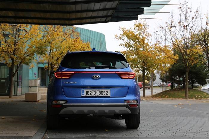 Blue <a href='https://www.carzone.ie/new-cars/Kia'>Kia</a>  2019