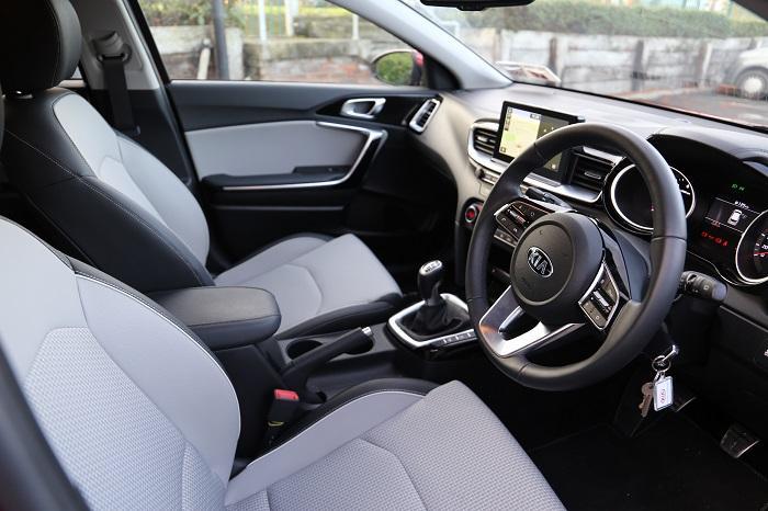 <a href='https://www.carzone.ie/new-cars/Kia'>Kia</a>  <a href='https://www.carzone.ie/new-cars/Kia/Ceed'>Ceed</a>  Interior