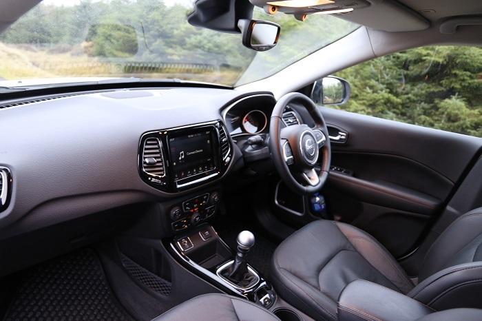 SUV Jeep Interior