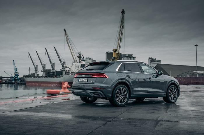 Audi Q8 Dublin Docks