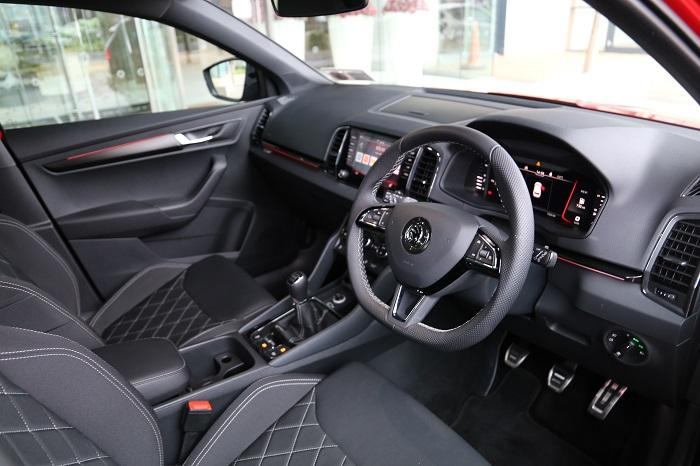 Sportline interior
