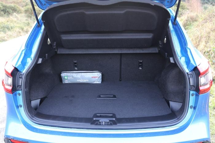 <a href='https://www.carzone.ie/new-cars/Nissan'>Nissan</a>  <a href='https://www.carzone.ie/new-cars/Nissan/Qashqai'>Qashqai</a>  Boot Space