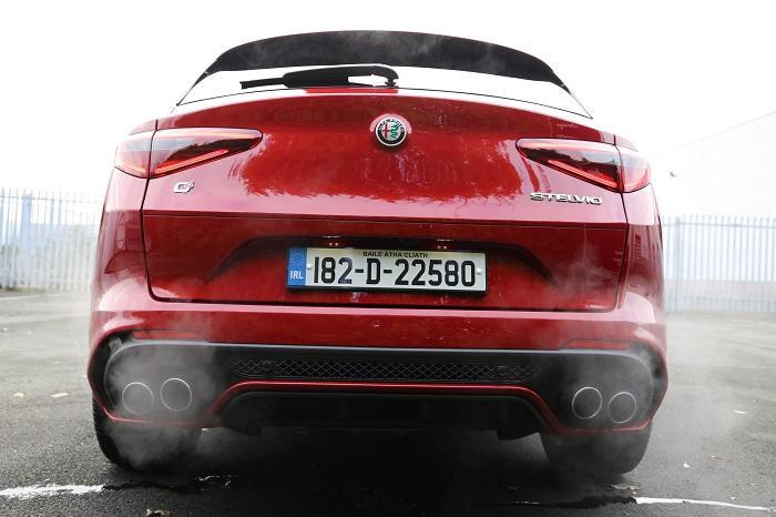 Alfa Stelvio QV engine