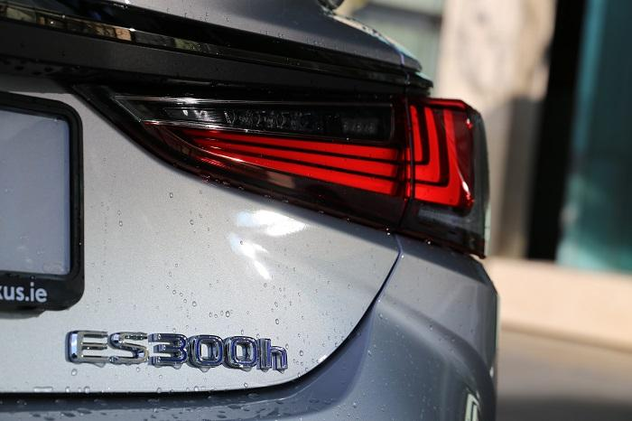 ES300h Badge