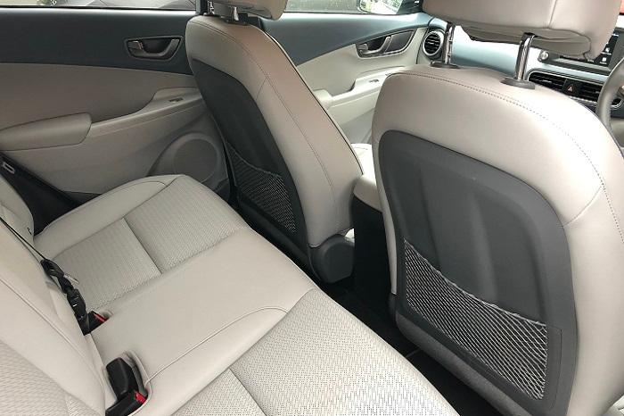 Rear seats Kona electric