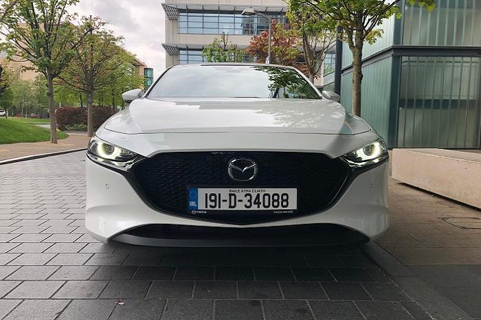 White Mazda