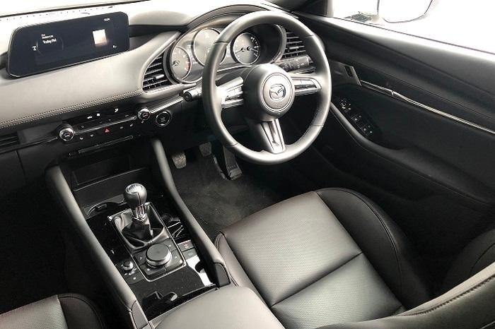 <a href='https://www.carzone.ie/new-cars/Mazda/Mazda3'>Mazda3</a>  Interior