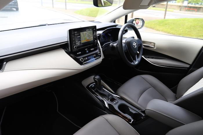 Corolla Hybrid Cabin
