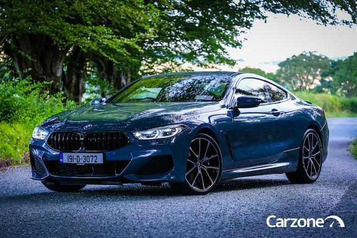 BMW 8 Series Barcelona Blue