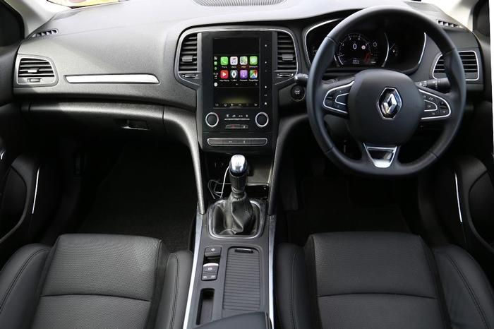 Renault Megane Apple Carplay