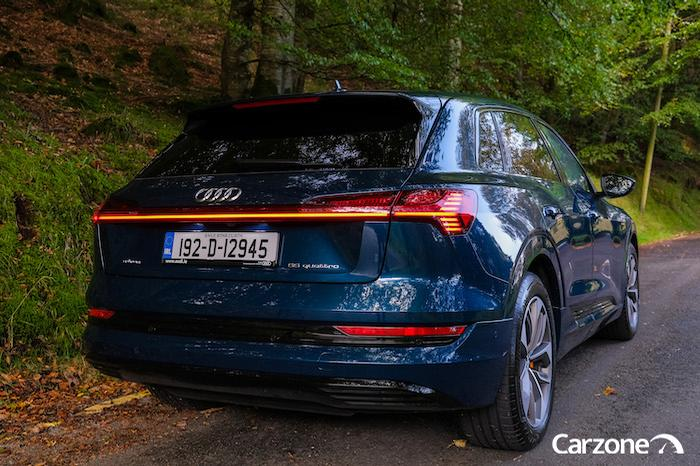 <a href='https://www.carzone.ie/new-cars/Audi'>Audi</a>  <a href='https://www.carzone.ie/new-cars/Audi/e-tron'>e-tron</a>  electric car