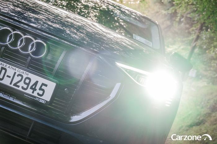Audi LED headlights