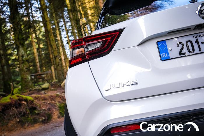 <a href='https://www.carzone.ie/new-cars/Nissan/JUKE'>JUKE</a>  badge