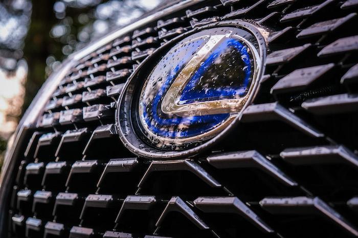 Lexus front grille