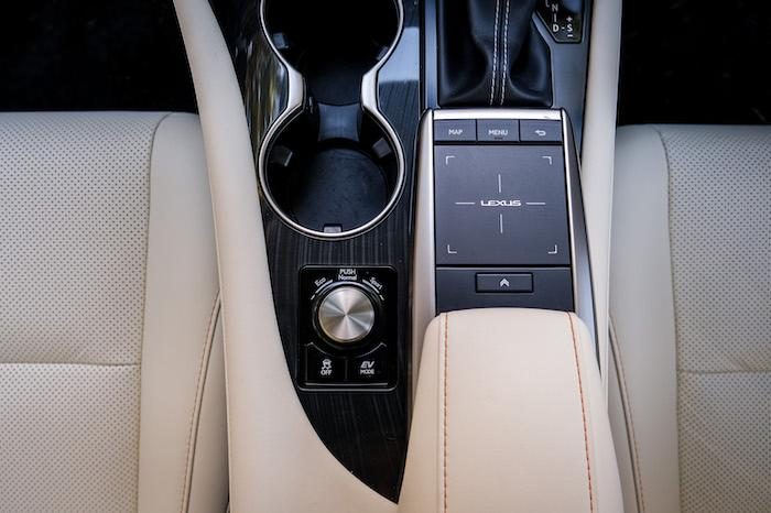 Lexus touchpad control