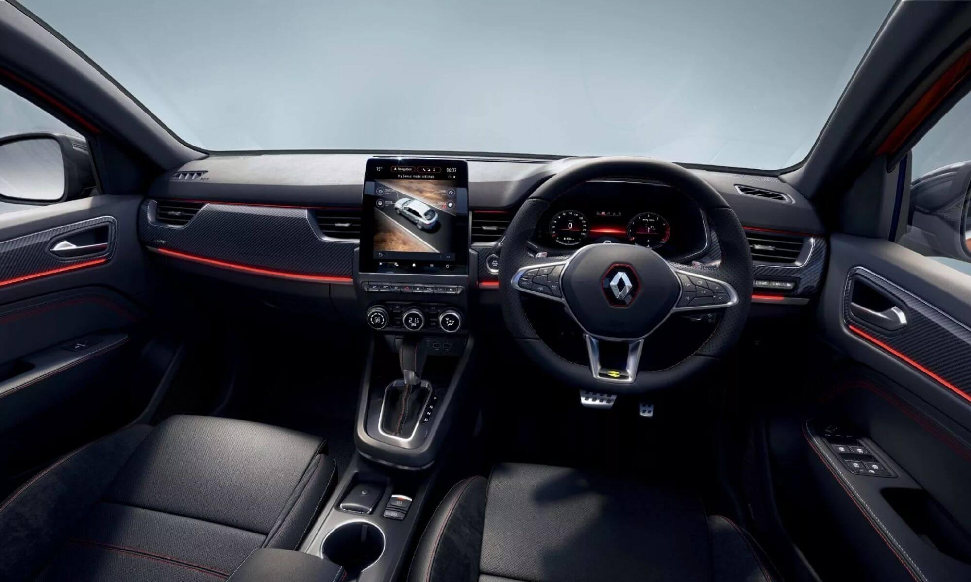 Renault Arkana Technology